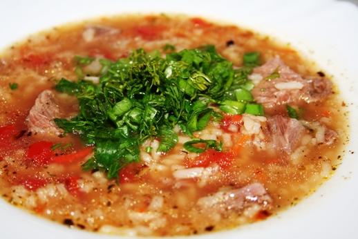 Рецепт супа харчо со специями