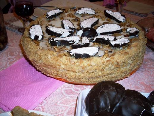 Рыжик с заварным кремом лучшие торты